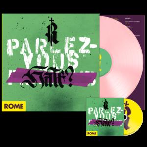 Rome – Parlez-Vous Hate? – LP + CD (U.S. Edition) – Limited