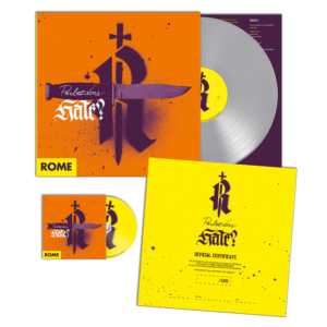 Rome – Parlez-Vous Hate? – LP + CD (Grey Edition) – Limited