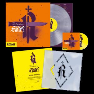 Rome – Parlez-Vous Hate? – LP + CD (Agitprop Edition) – Limited