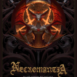 Necromantia – To The Depths We Descend… – Limited Α5 Digipack CD (1.500 Copies) + Bonus Track + Poster + Printed Partiture